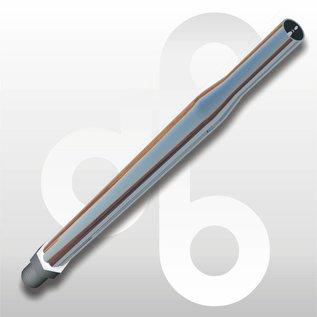 Buis chroom M8 15 cm