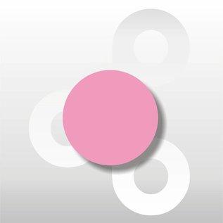 Fluorsticker Roze 35 mm