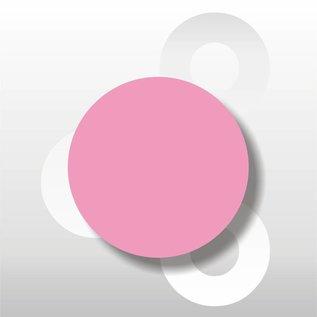 Fluorsticker Roze 50 mm