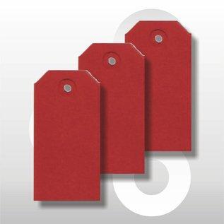 Ecolabel 55 x 110 mm ROOD 1000 stuks