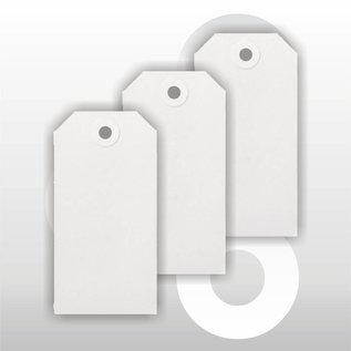 Ecolabel 55 x 110 mm WIT 1000 stuks