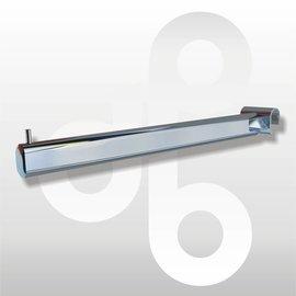 Rechtestang voor kledinghangers 40 cm met uiteinde pen