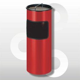 Metalen as-papierbak 30 liter