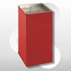 Vierkante zandasbak 30x30x H60 cm