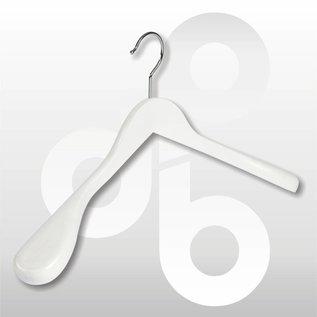 Mantel/kostuumhanger met brede schouders (60 mm) 45 cm