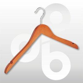 Blouse/shirt hanger Kersen 43 cm met rokinkeping