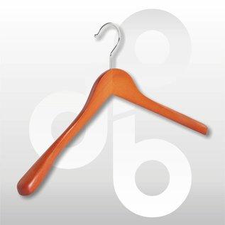 Mantel/Kostuum hanger met brede schouders(30mm) 42 cm breed