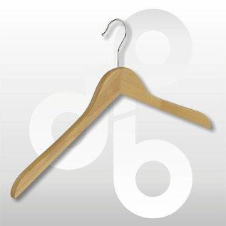 Blouse / shirt houten hanger vlak 43 cm
