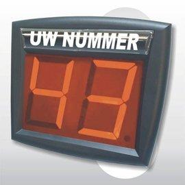 Volgnummersysteem Led-nummer display