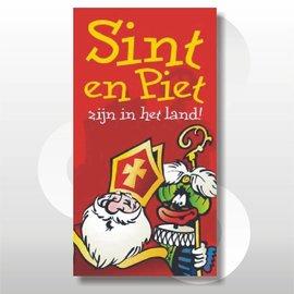 Raambiljet full Colour Sint en Piet zijn weer in het land!