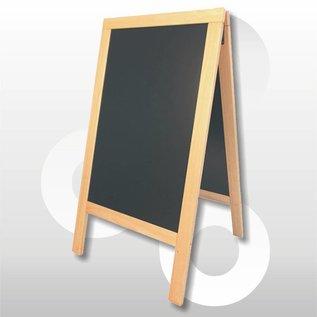 Krijtstoepbord blank B X H 75 x 135 cm