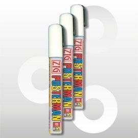 Krijtstift wit 2-6 mm waterproof