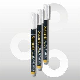 Krijtstift wit 1-2 mm uitwisbaar