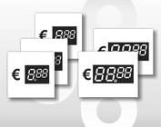 Digitale prijskaartjes