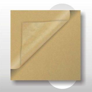 Bruin kraft papier 30 cm breed 215 mtr