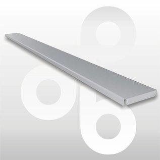Gondola afdeklijst L100 B6 zilvergrijs