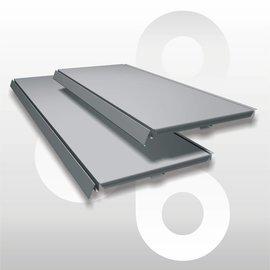 Schap D25 L66,5 zilvergrijs
