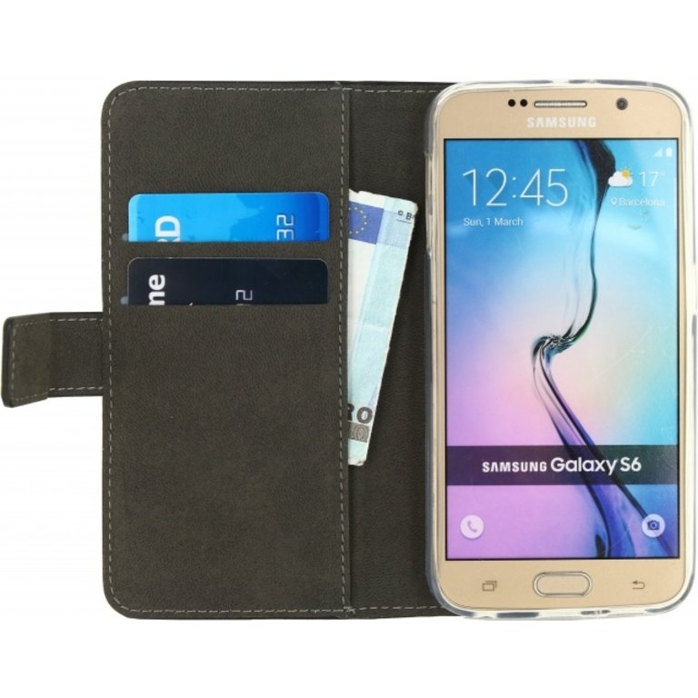 Mobilize Classic Wallet Book Case Samsung Galaxy S6
