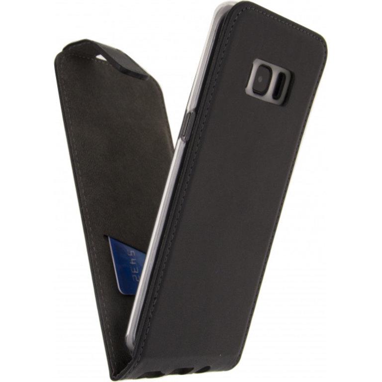 Mobilize Premium Flip Case Samsung Galaxy S8+ Zwart