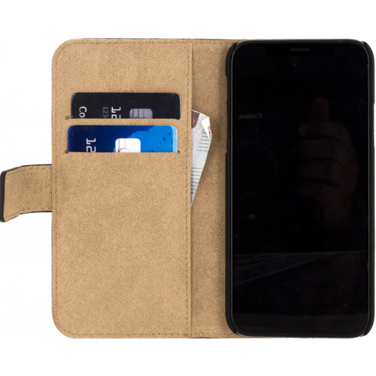 Mobilize Classic Gelly Wallet Book Case Apple iPhone X/Xs Black