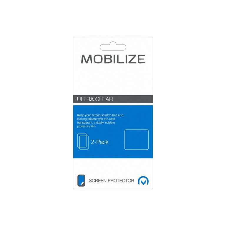 Mobilize Clear 2-pack screenprotector iPhone 6 Plus/6S Plus
