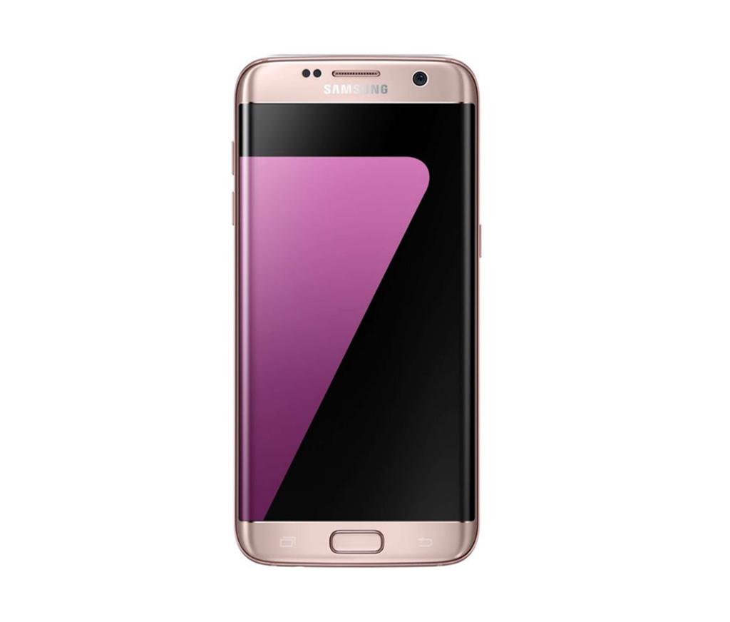 Refurbished Samsung Galaxy S7 Edge Roze 32GB Als nieuw