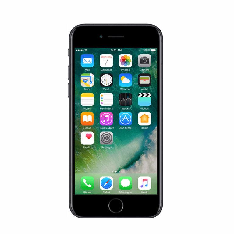 Apple Refurbished iPhone 7 Mat zwart 128GB