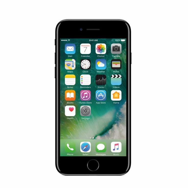 Apple Refurbished iPhone 7 Glanzend zwart 128GB