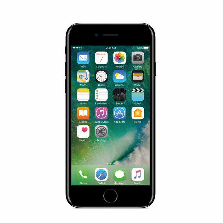 Apple Refurbished iPhone 7 Glanzend zwart 32GB