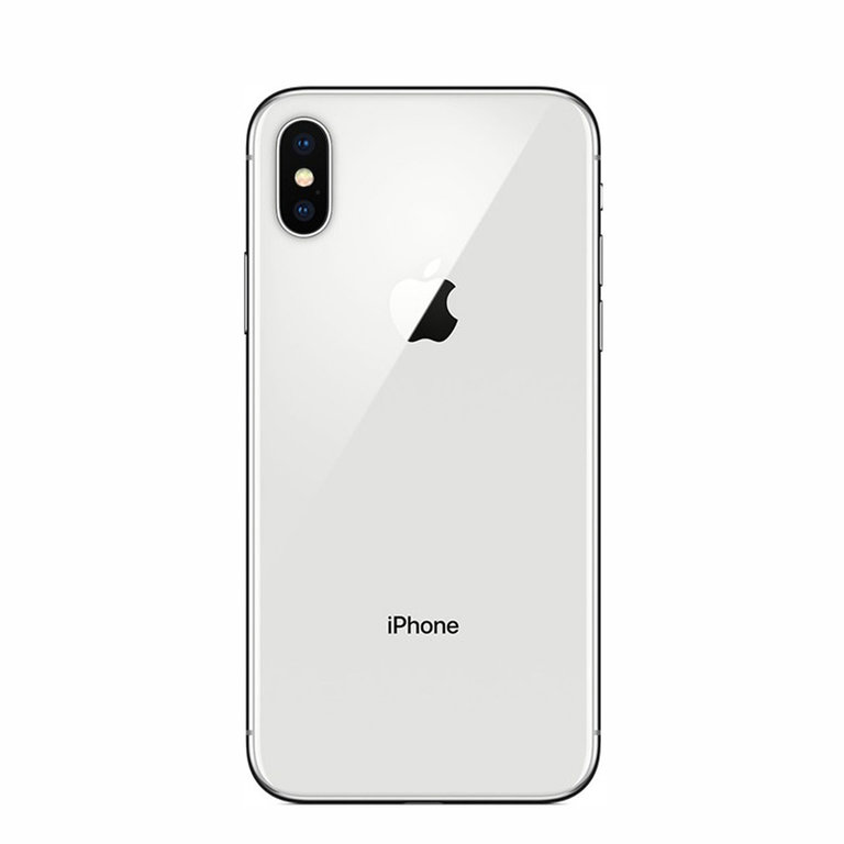 Apple Refurbished iPhone X Zilver 64GB