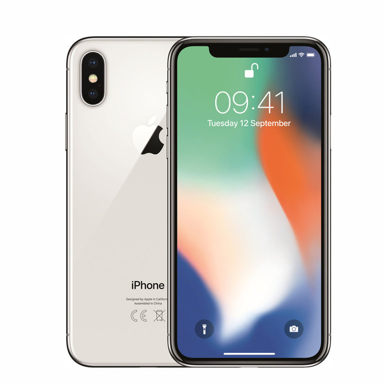 Apple Refurbished iPhone X Zilver 256GB