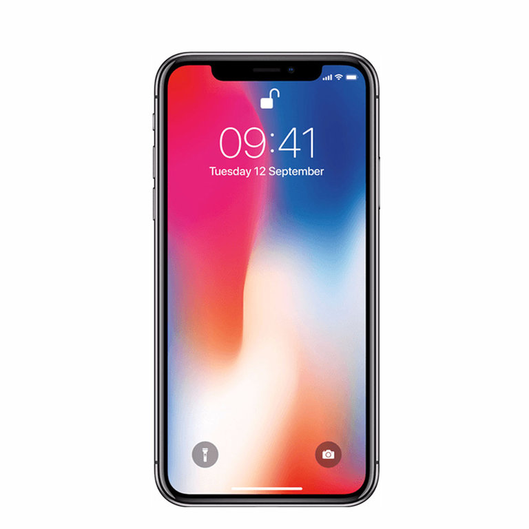 Apple Refurbished iPhone X Grijs 256GB