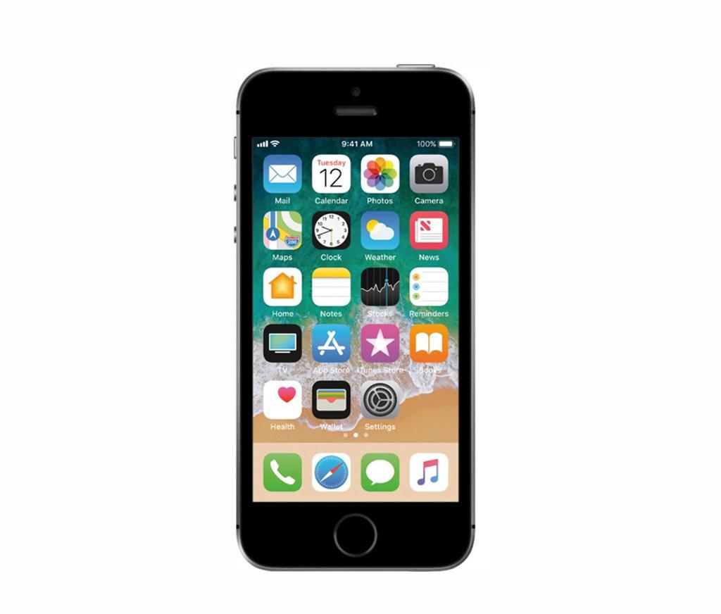 Refurbished iPhone SE Grijs 32GB Zeer goed