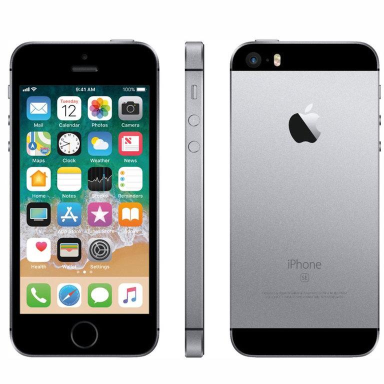 Apple Refurbished iPhone SE Grijs 128GB
