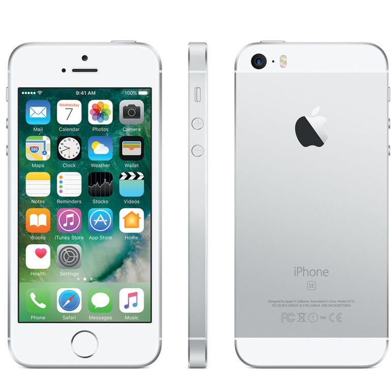 Apple Refurbished iPhone SE Zilver 64GB