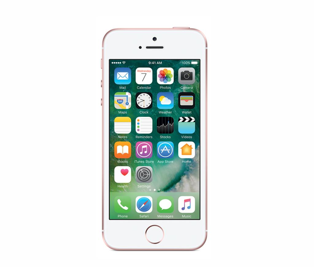 Refurbished iPhone SE Rosegoud 16GB Zeer goed