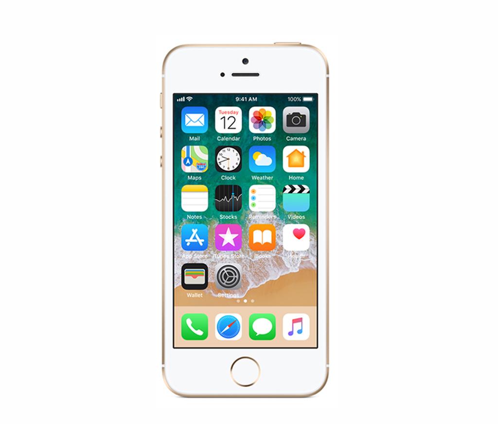 Refurbished iPhone SE Goud 16GB Als nieuw