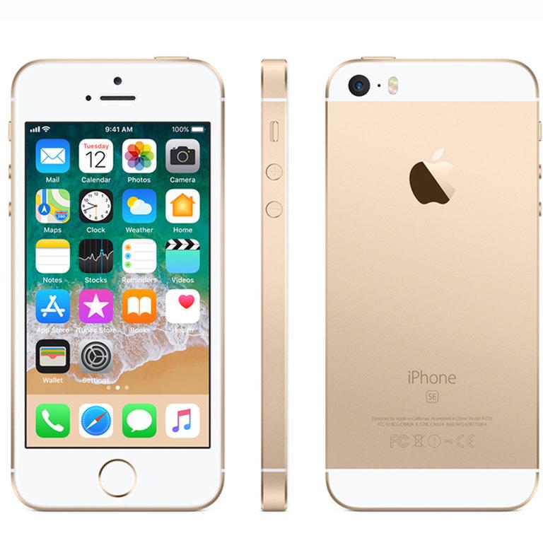 Apple Refurbished iPhone SE Goud 16GB