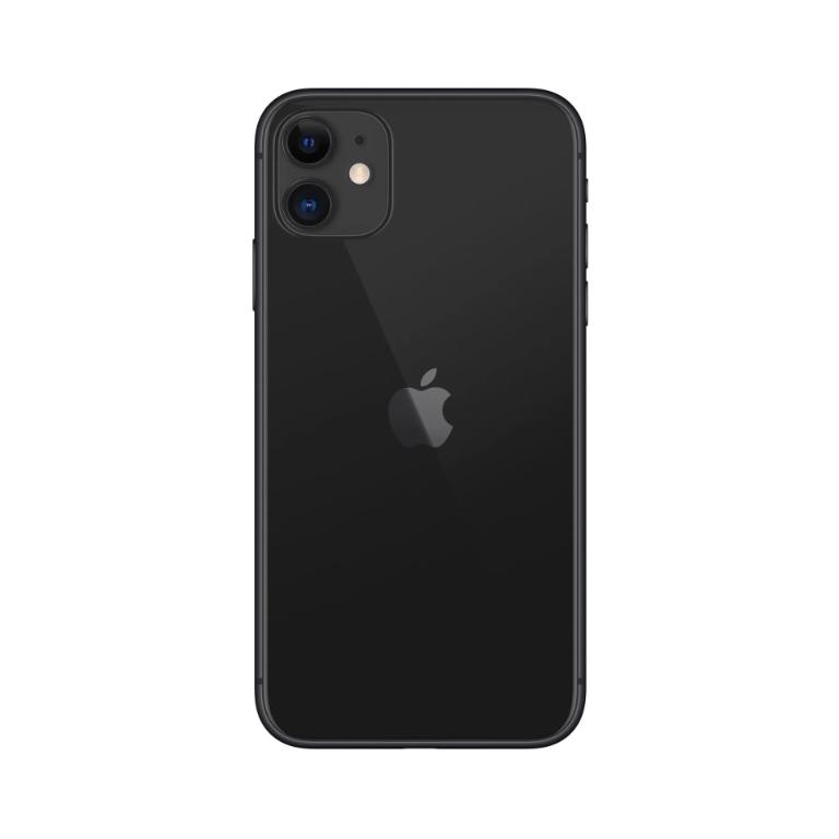 Apple Refurbished iPhone 11 Zwart 64GB