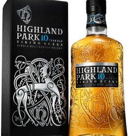 Original Distillery Bottling Highland park 10Y viking scars 40%