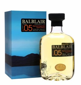 Original Distillery Bottling Balblair vintage 2005 46%