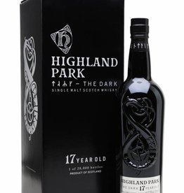Original Distillery Bottling Highland Park The Dark 17Y