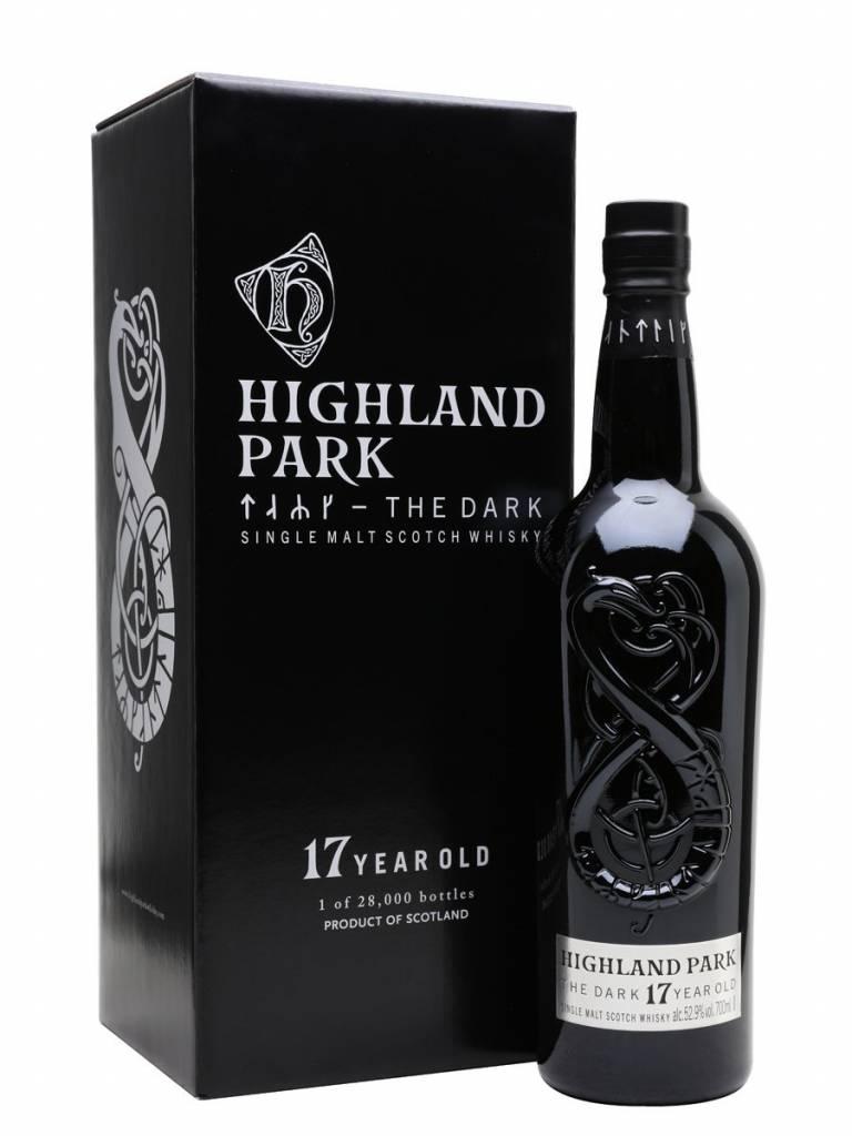Original Distillery Bottling Highland Park The Dark 17Y Limited edition