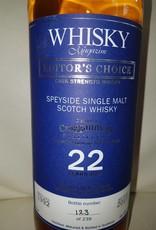 Original Distillery Bottling Gragganmore 22Y  1992 -2015 Whisky Magazine Editor's Choice  55.7%