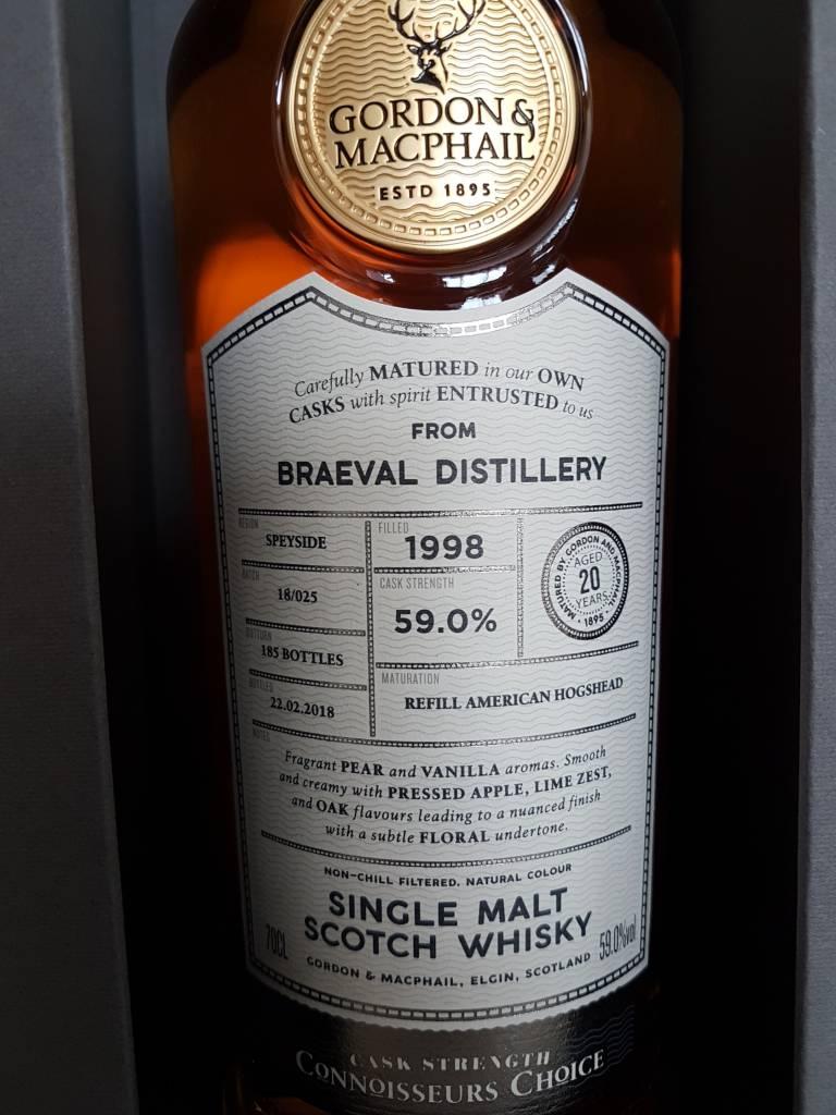 Gorden & Macphail Braeval 20Y 1998-2018 59%