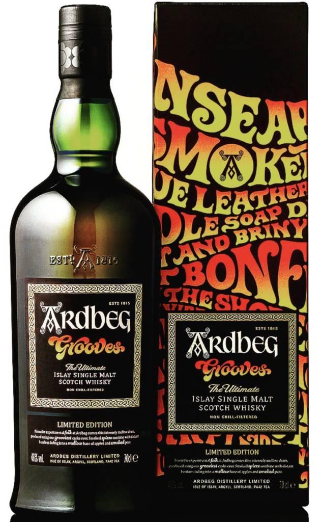 Original Distillery Bottling Ardbeg Grooves 46%