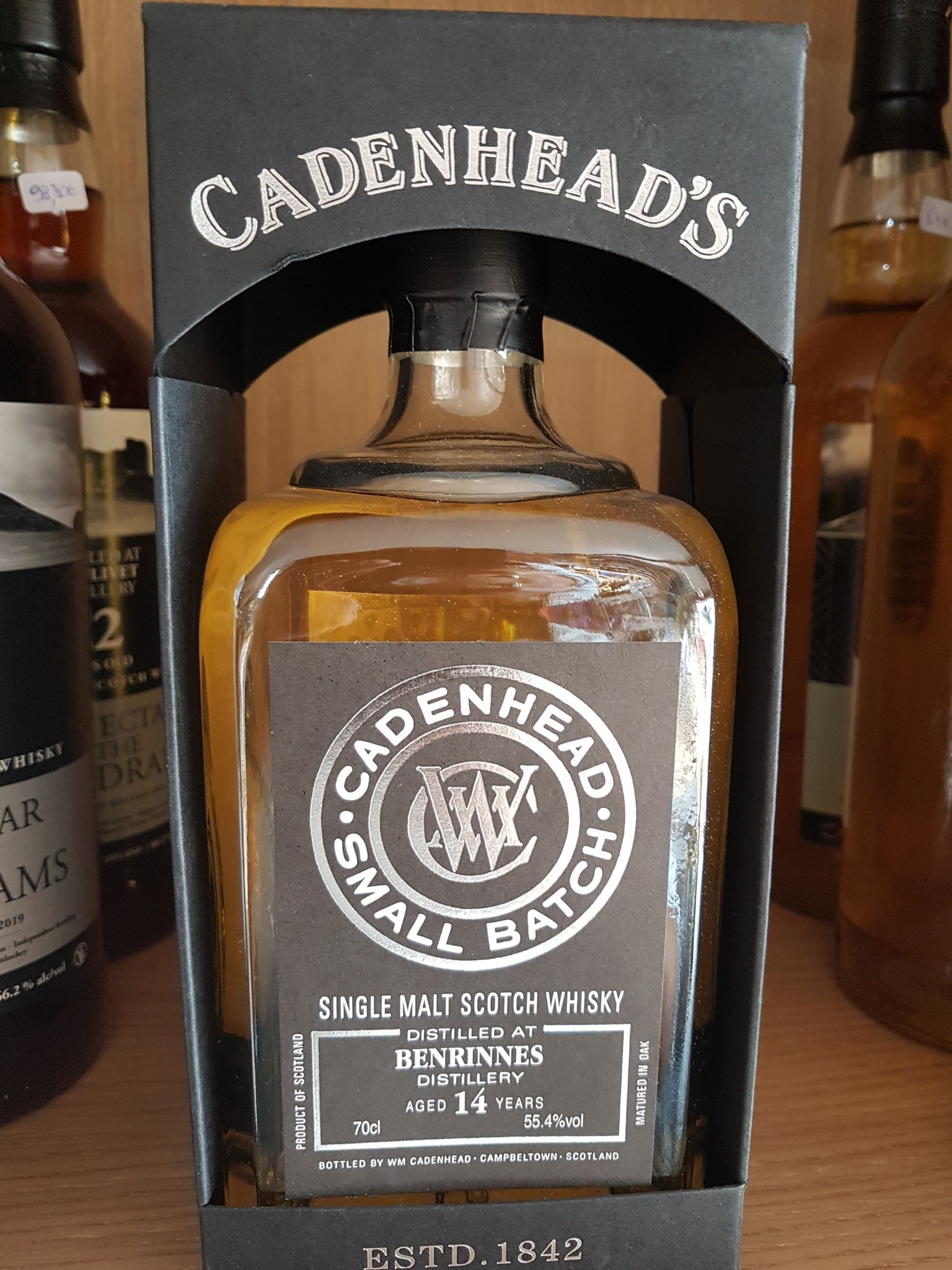 Cadenhead Benrinnes 14Y 2004-2018 55.4% Cadenhead's