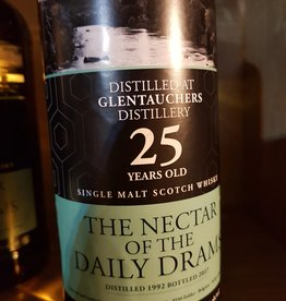 The nectar of the Daily drams Glentauchers 25Y 1992-2017  51.2% Daily Dram