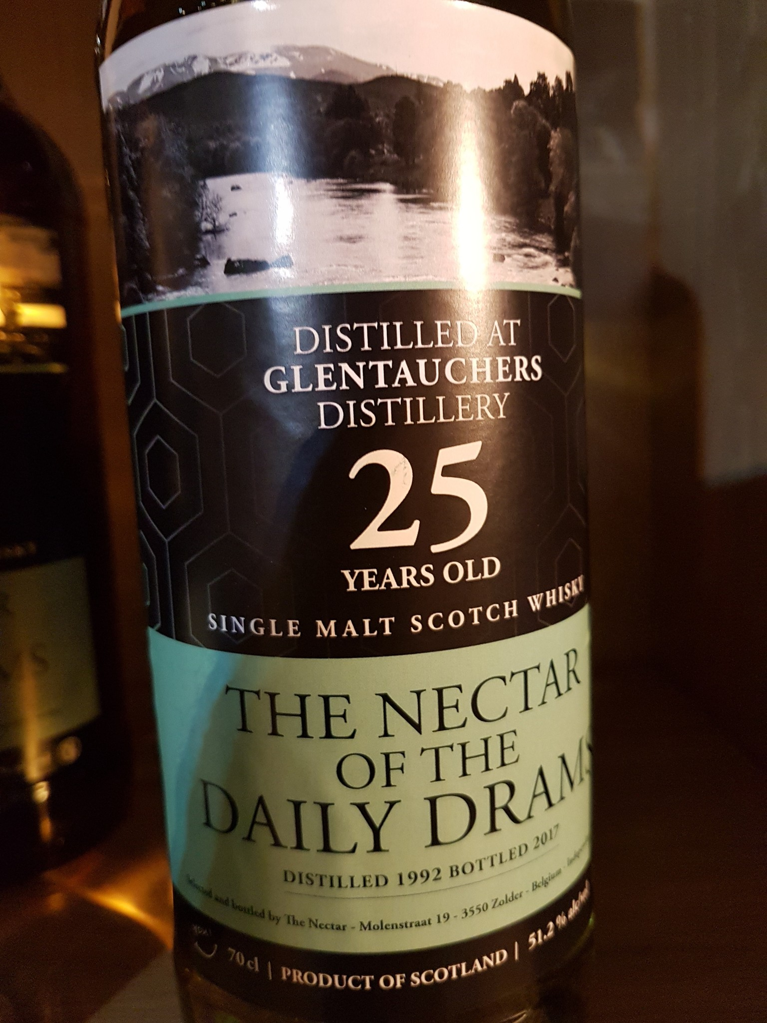 The nectar of the Daily drams Glentauchers 25Y 1992-2017 51.2%  Daily Dram