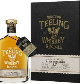 Original Distillery Bottling Teeling 12Y Revival 46%  Cognac & brandy finish